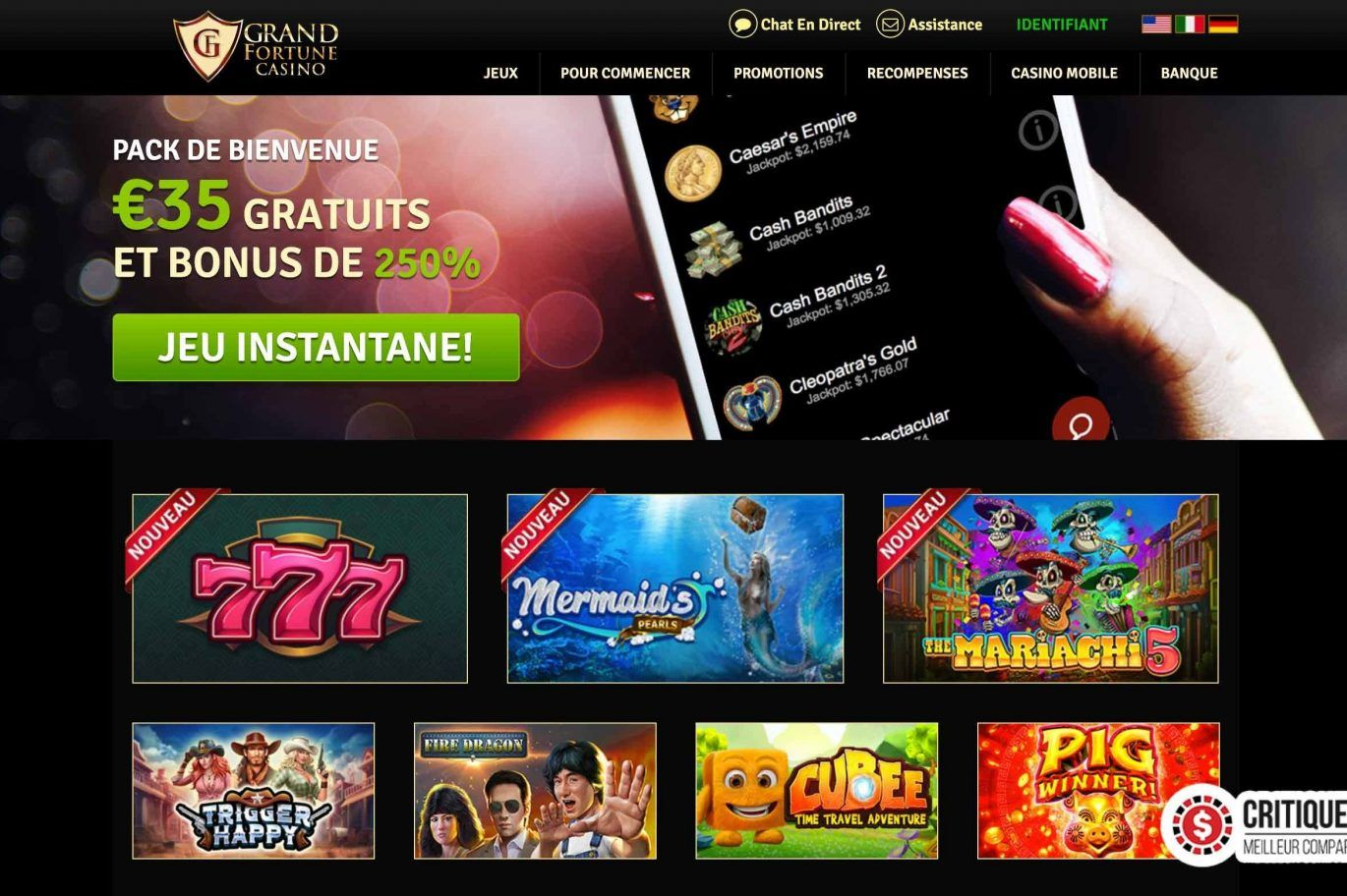 registration big fortune casino